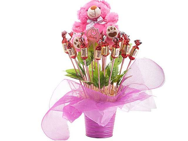 Welcome Baby Girl at Chocolates Bouquets | Ignition Marketing Corporate Gifts