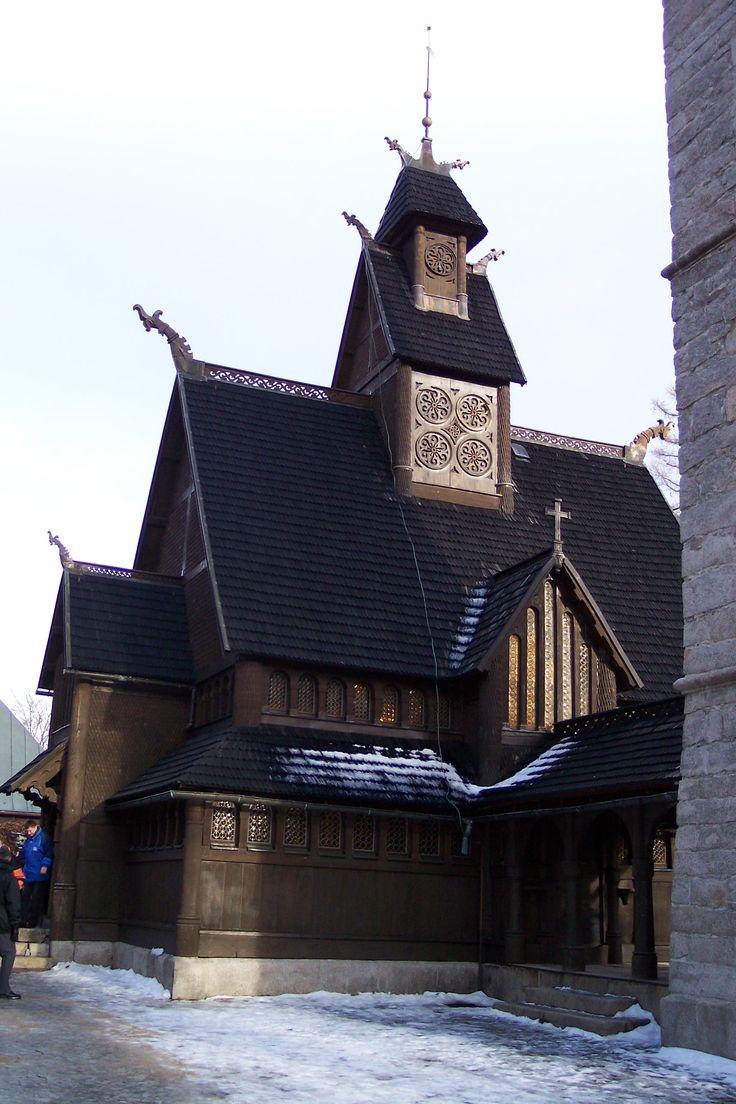 Kirche Wang im Riesengebirge/ Polen
