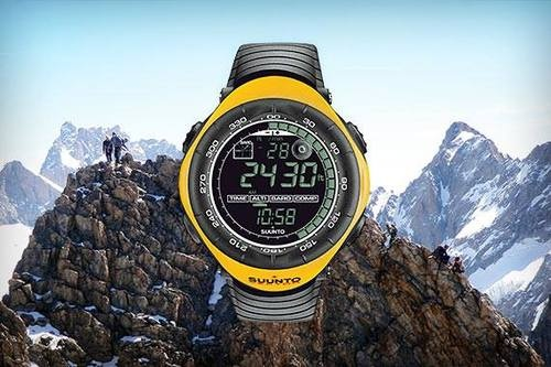 "Legendary outdoor watch with a solid track record of high-altitude performance ""Suunto Vector"""