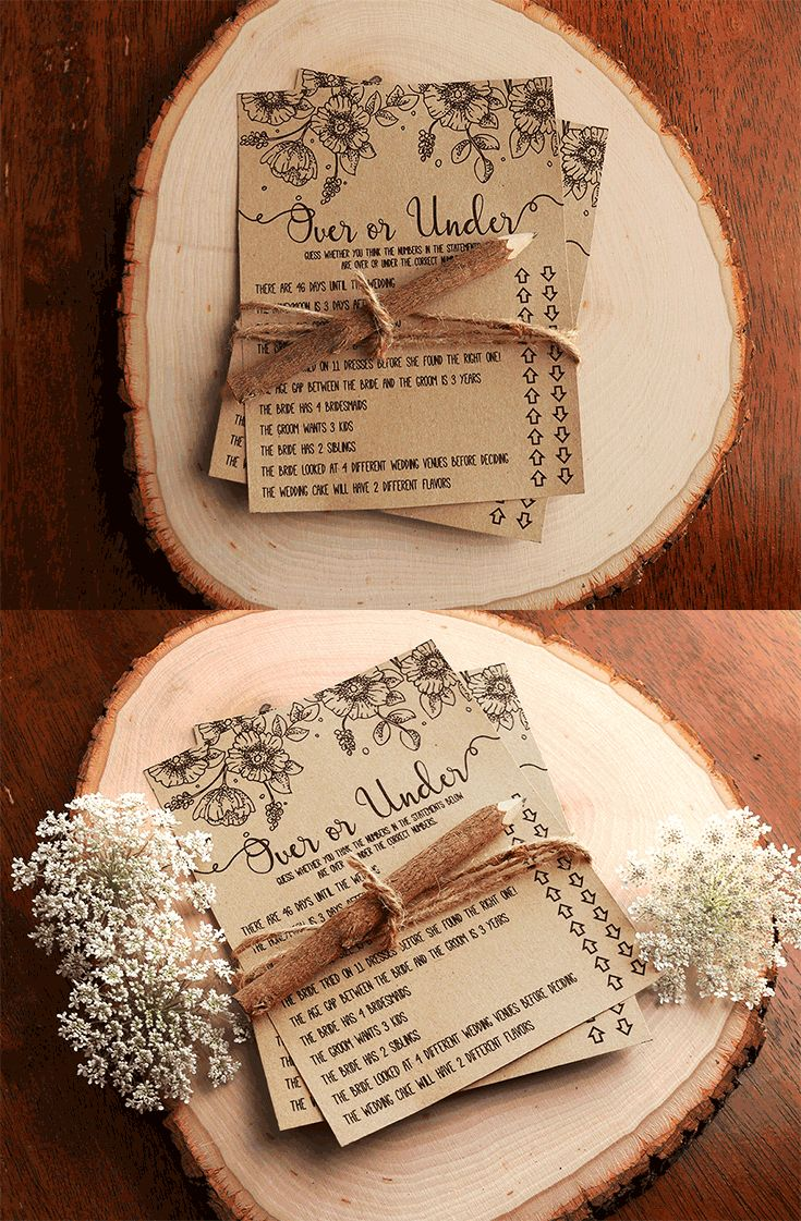 free printable famous couples bridal shower games%0A Over or Under Bridal Shower Games   Over or Under the Number   Printable  Instant Download   Rustic  Fun  Bridal Shower Game