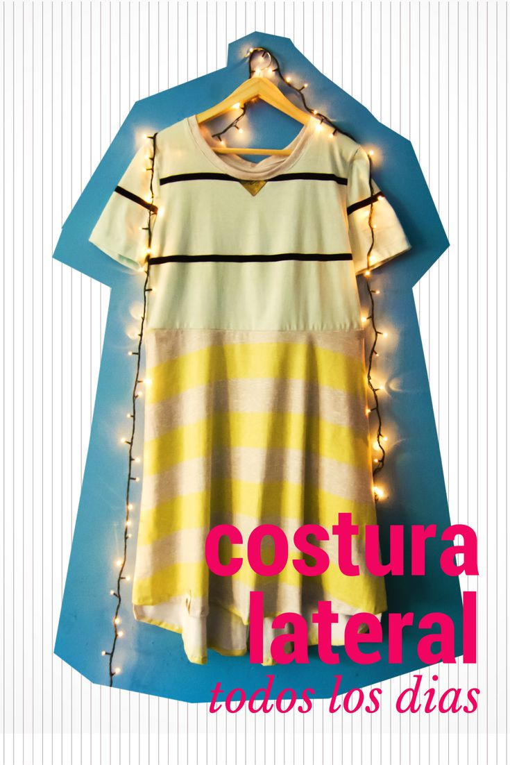 Vestido de Verano para usar todos los días https://www.facebook.com/costuralateral/ https://www.instagram.com/costuralateral/ https://twitter.com/costuralateral
