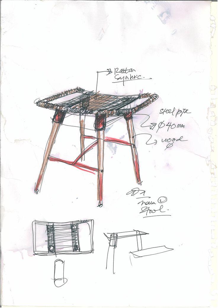 New Stool Design (Sketch)