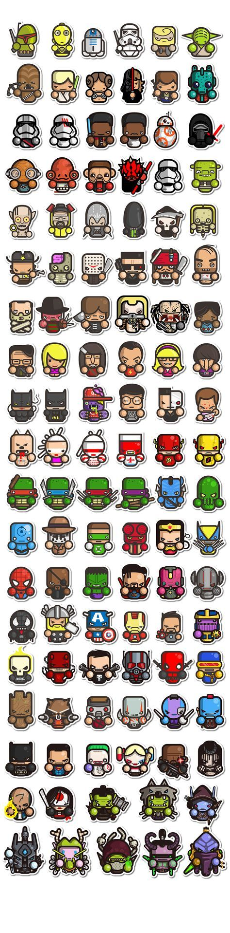 Los quiero como stickers :)