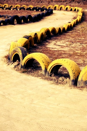 Go cart track - Robin Brown
