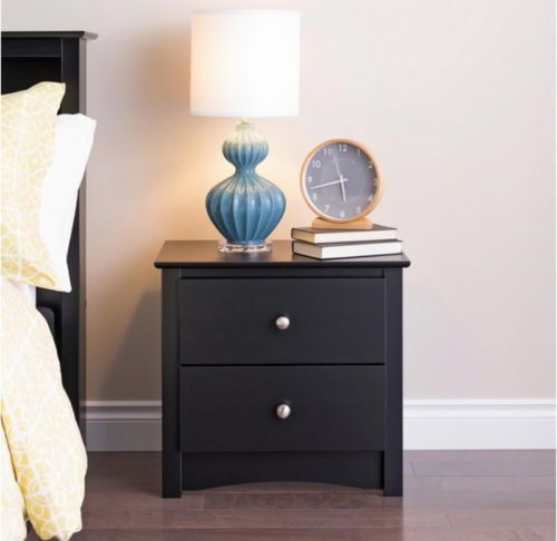 Best Two Drawer Nightstand Arched Base Modern Bedroom Furniture 640 x 480