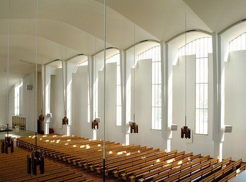 Seinäjoki Lakeuden Risti Church by Alvar Aalto, Seinäjoki, Finland - (1956-1965)