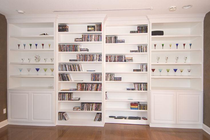 Ready Made Shelves : Ideas about custom bookshelves on pinterest