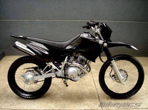 2005 Yamaha XTZ 125 motorcycle photo