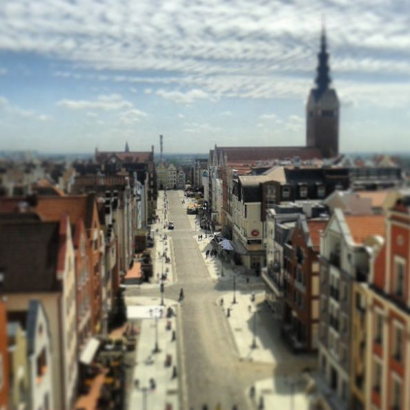 #Elblag in #summer seen from tower