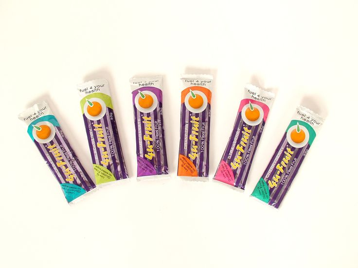 Fruit bar wrappers