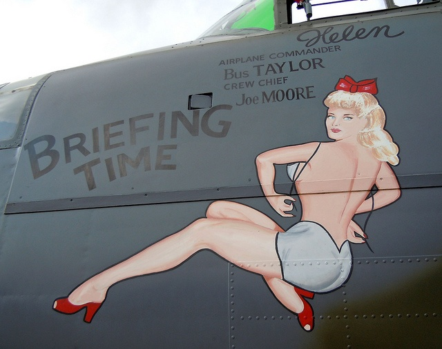 B-25 Mitchell     - I remember seeing these paintings on the planes my dad flew, back in the 1940s