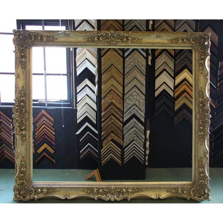 12 best frames images on Pinterest | Antique frames, Frame mirrors ...
