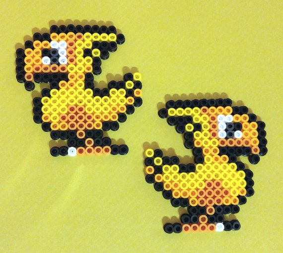 Hey, I found this really awesome Etsy listing at https://www.etsy.com/listing/236168429/final-fantasy-4-iv-chocobo-snes-perler
