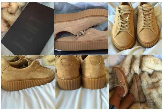 Puma Creepers Fake