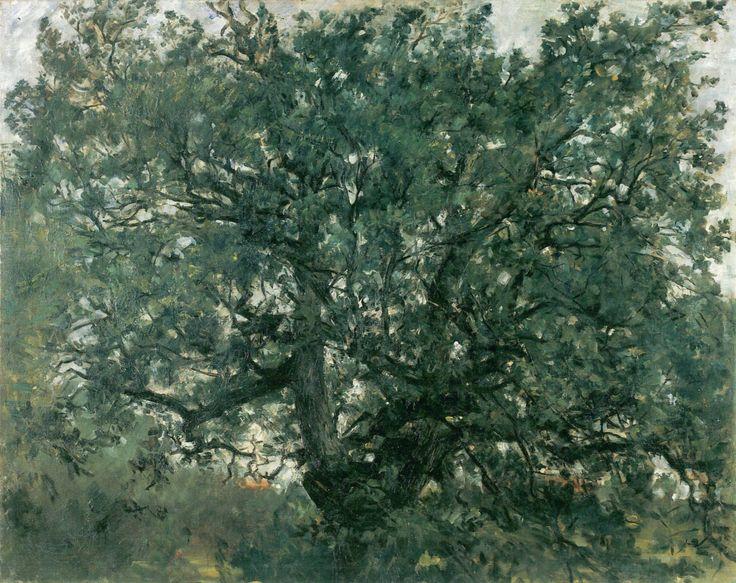 Der Eichbaum, 1907, Lovis Corinth