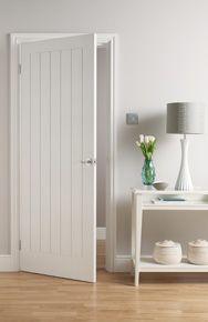 I really like the door! Moulded Mexicana / Dordogne white interior door