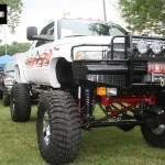 Lifted Cummins Diesel Truck at TS Outlaw 2012
