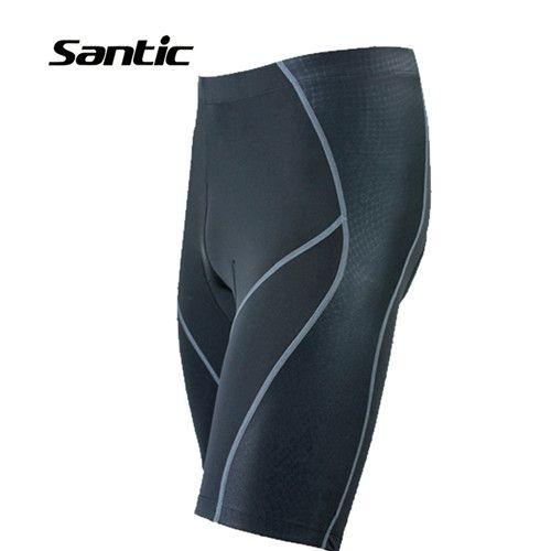 SANTIC Новых Людей ciclismo Велосипед Мотоцикл Горные Велосипедные Шорты Колготки Одежда 4D Гель Для Мягкой Светоотражающие Шорты