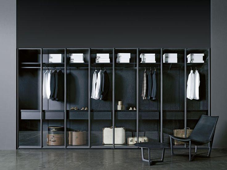 Walk-in wardrobe STORAGE - Porro