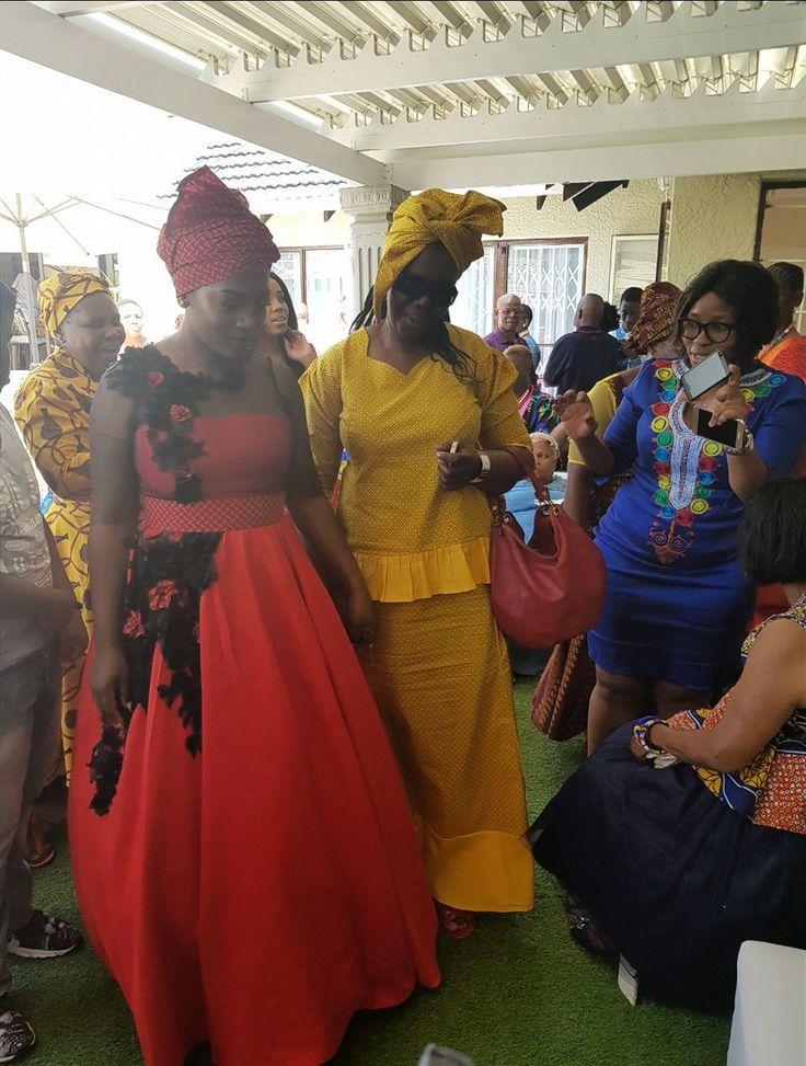 Mbali's traditional wedding