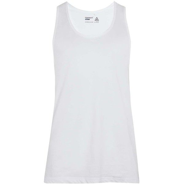 TOPMAN White Classic Vest ($8.84) ❤ liked on Polyvore featuring men's fashion, men's clothing, men's outerwear, men's vests, white, men's cotton vest, mens white vest, mens vest outerwear and mens vest