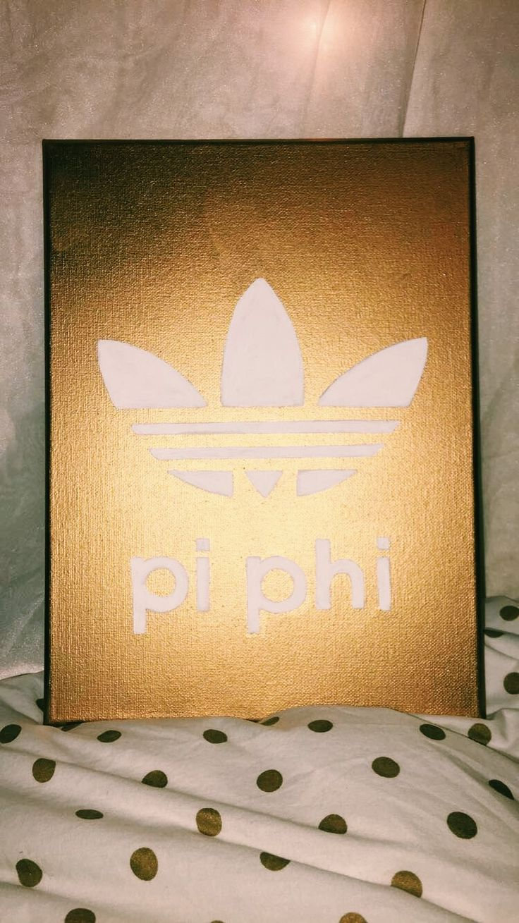 pi beta phi adidas canvas   pin: @keltyyy