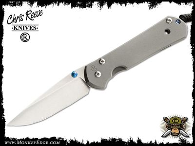 """Chris Reeve """"Sebenza"""" folder.  I had one of these, years ago.  Simple in the extreme, but elegant in materials and execution.  If you're of the means, I highly recommend picking one up."""