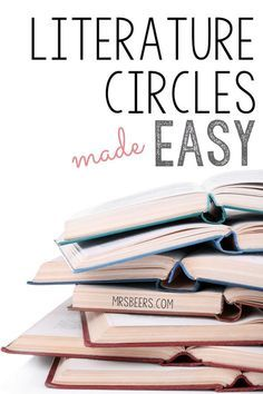 Literature Circles Made Easy: 4-steps to implementing literature circles in your classroom.