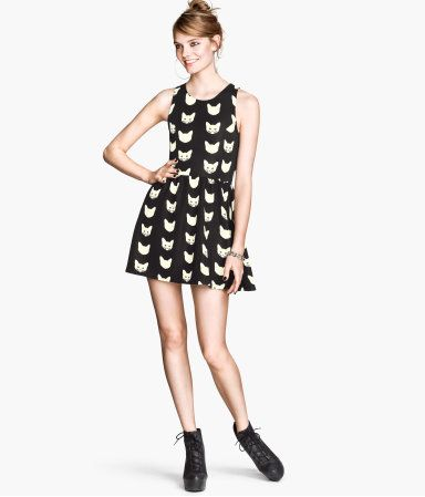 I know one of you needs this cat dress.