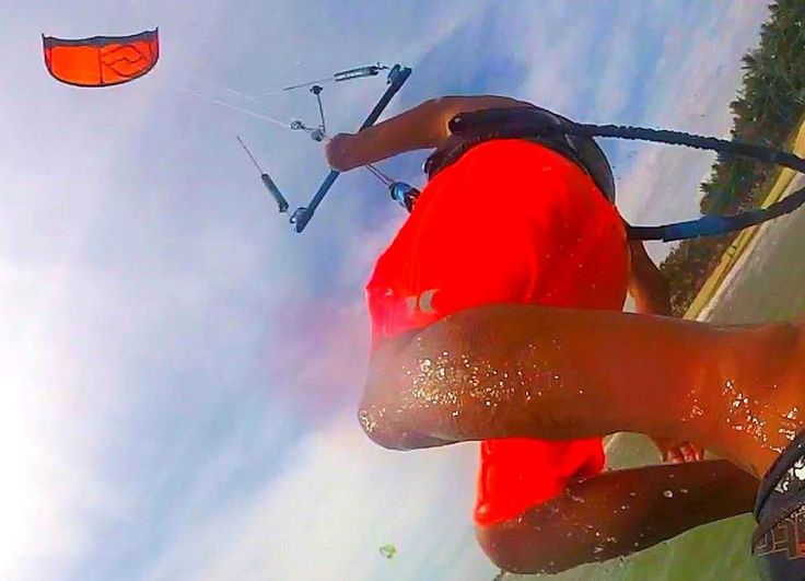 Orange on Orange  Rider: Jun Oshima Location: Japan Kite: Element3  #switchkites #kitesurfing #freestylekitesurfing #element3