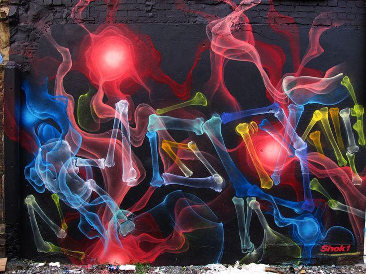 Shok-1 Neon Graffiti