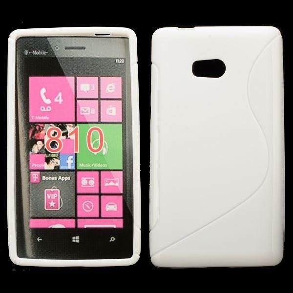 S-Line Solid (Hvid) Nokia Lumia 810 Cover