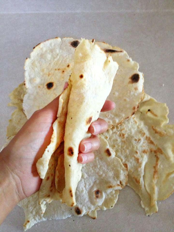 Gluten Free Flour Tortillas - Gluten Free/Egg Free/Dairy Free/Soy Free/Vegan/Vegetarian