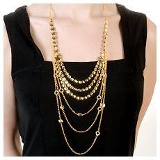 Gold Neckpiece - Everyday Terrific - United States - Fifth Avenue Collection - Jewellery that changes the way you see fashion