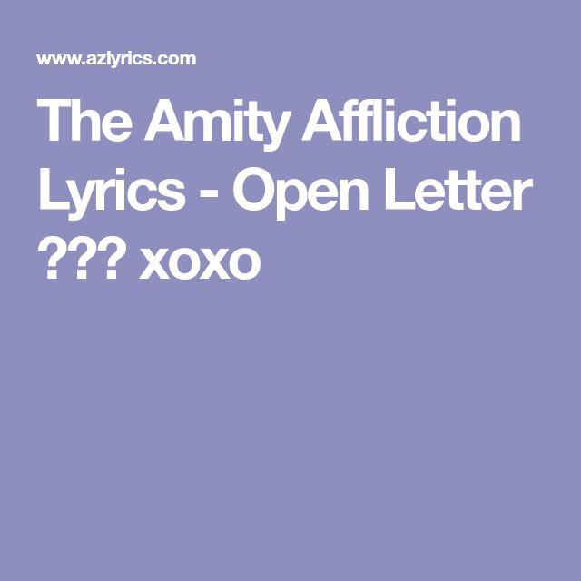 The 25 best Open letter lyrics ideas on Pinterest