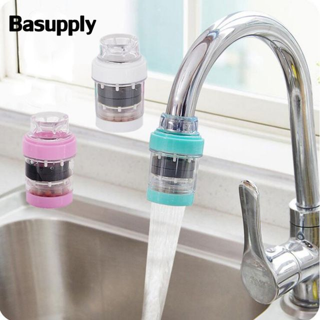 Household Kitchen Water Purifier Filtration Faucet Drinking Tap Mini Water Faucet Filter Home Taps Bathro Filtered Water Faucet Kitchen Faucet Tap Water Filter