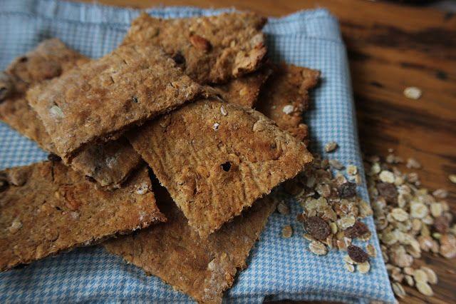 Zuurdesem Muesli Pindakaas Honing Crackers - De Bakparade