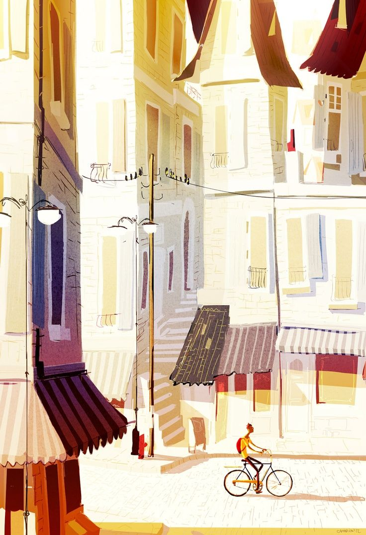 Pascal Campion >> Illustration Friday
