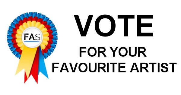 Vote Now For Your Favourite Artist!  The entries for our very first Untitled Art Award 2016 are now in, and here is your chance to support our talented artists by voting for your favourite work.  Simply go to facebook.com/fineartseen and cast your vote! It's free to enter and you will be supporting a fantastic cause.  All of the entries have been original and unique. The winning artist and five runners-up are in with the chance of winning some brilliant prizes!