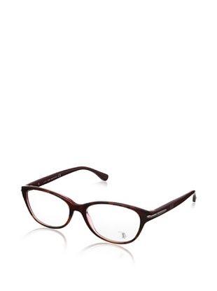 69% OFF Tod's Women's TO5048 Eyeglasses, Brown Havana