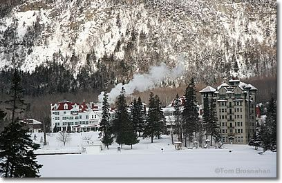 The Balsams in winter - best family ski vacation spot!