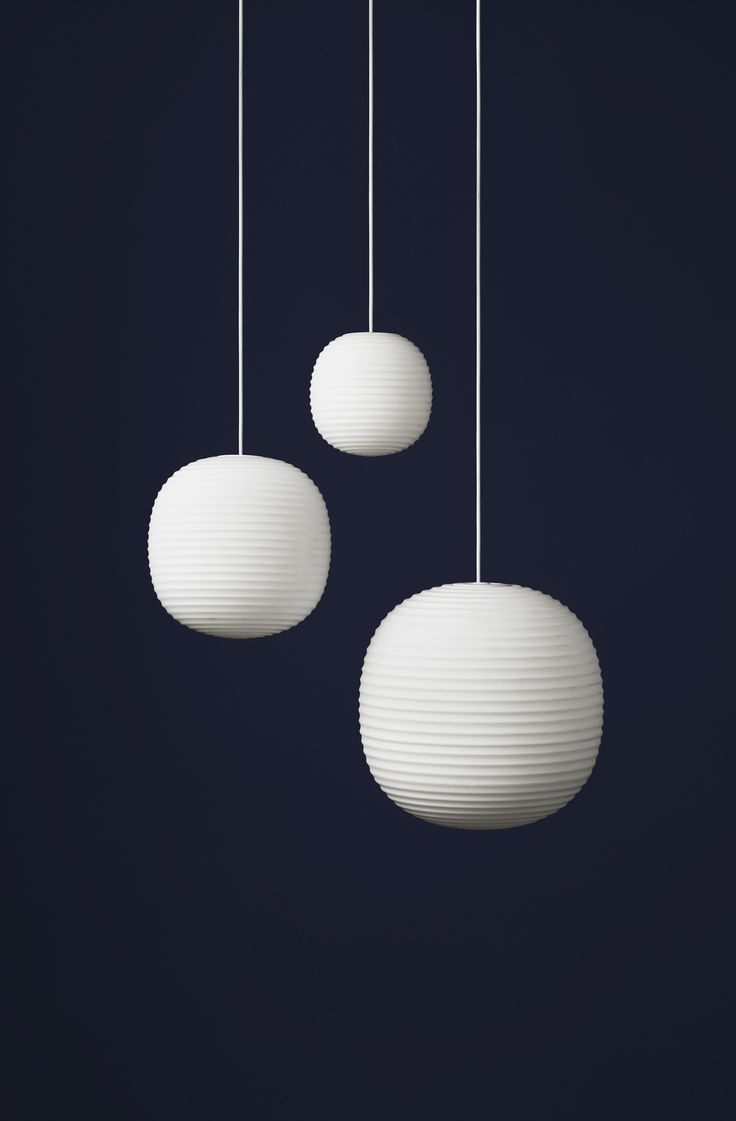 The Lantern Pendant is inspired by the iconic Scandinavian rice paper lamp, Lantern is a modern example of what happens if you mix an old form with new materials. The glass is frosted which makes the light calming, and with its round form the lamp has a comfortable presence in almost any room. Design Anderssen & Voll Dimensions H: 400 x Ø: 400 mm IN STOCK FROM MARCH 2016