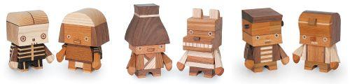 wooden robots #toys