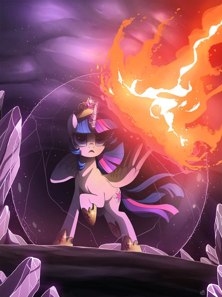 Twilicorn. :D I can totally imagine Twilight having to fight Celestia because she goes evil and then she gets banished to the sun for 1000 years... OOO and then Twi and Luna would rule I guess. :D