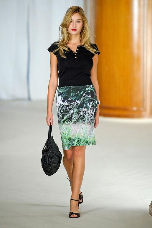 AGNÈS B spring 2012 rtw Loving the Mint Green in skirt!!