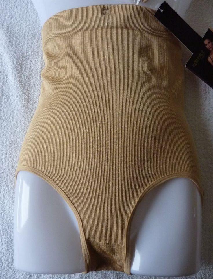 Slip culotte Gaine Ventre plat serre taille minceur beige femme L/XL (40) neuf