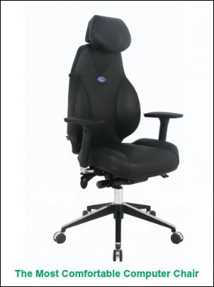 The Most Comfortable Computer Chair - home or office use!