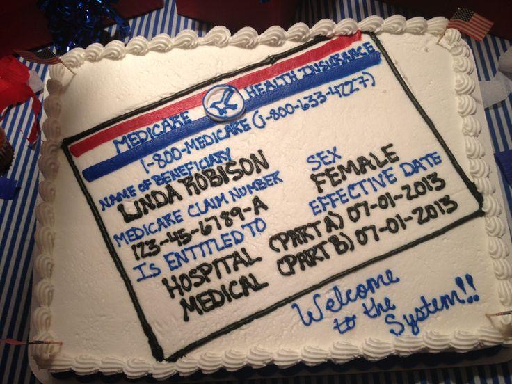 65th birthday party cake idea