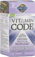 Garden of Life Vitamin Code® RAW Prenatal // for the next munchkin?