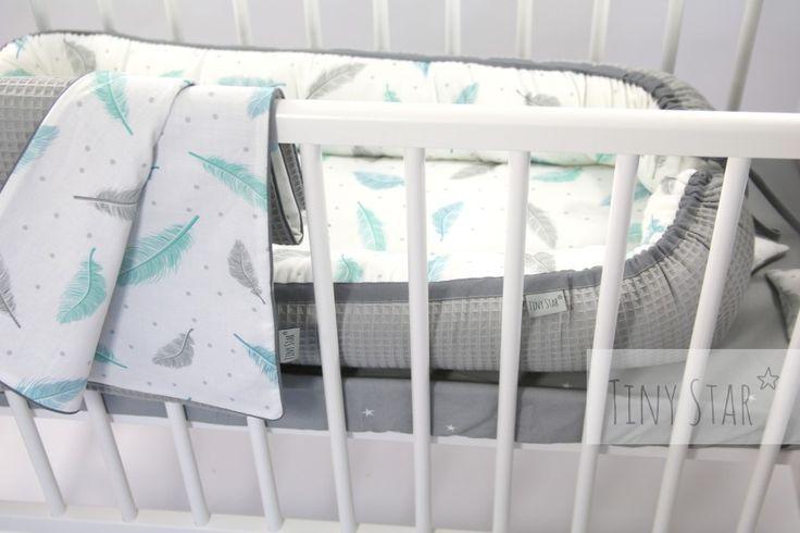 Kokon dla noworodka TINY STAR. Dedykujemy maluszkom od 0 do 6 miesięcy <3